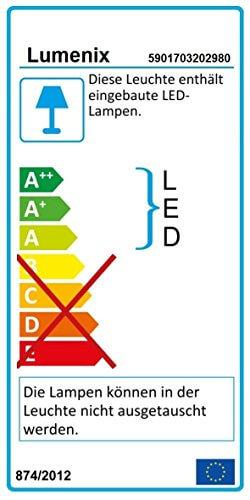 6er Set LED Treppenbeleuchtung mit Trafo und Kabel