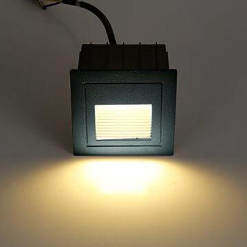 FVTLED 4er LED Treppenlicht Aluminium