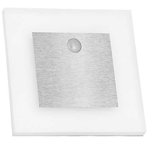 LEDANDO 3er Set LED Treppenbeleuchtung mit Bewegungsmelder und 15W Trafo