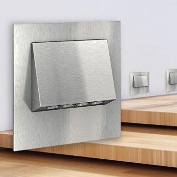SSC-LUXon® LED Wandleuchte NARVA Edelstahl gebürstet