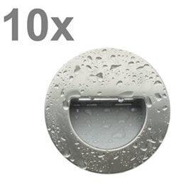Trango 10er Pack LED Treppenbeleuchtung