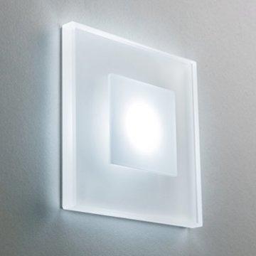 Treppenbeleuchtung Premium SunLED Glas Hochwertig mit Unterputzdose Kaltweiß
